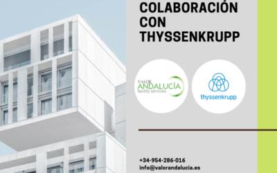 Valor Andalucía se une con ThyssenKrupp